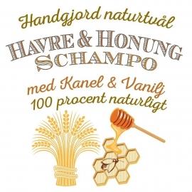 12p Schampokub - Havre & Honung