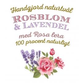12p Tvål - Ros & Lavendel