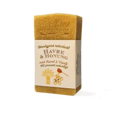 Havre & Honungstvål 100% Naturligt