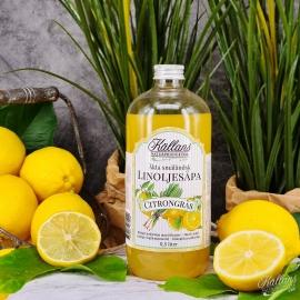 12p Linoljesåpa Citrongräs 500 ml