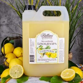2p Linoljesåpa Citrongräs 5 liter