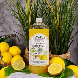 12p Linoljesåpa Citrongräs 1 liter