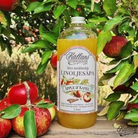 Linoljesåpa Äpple & Kanel - 1 liter