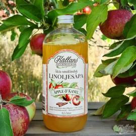 Linoljesåpa Äpple & Kanel - 0,5 liter